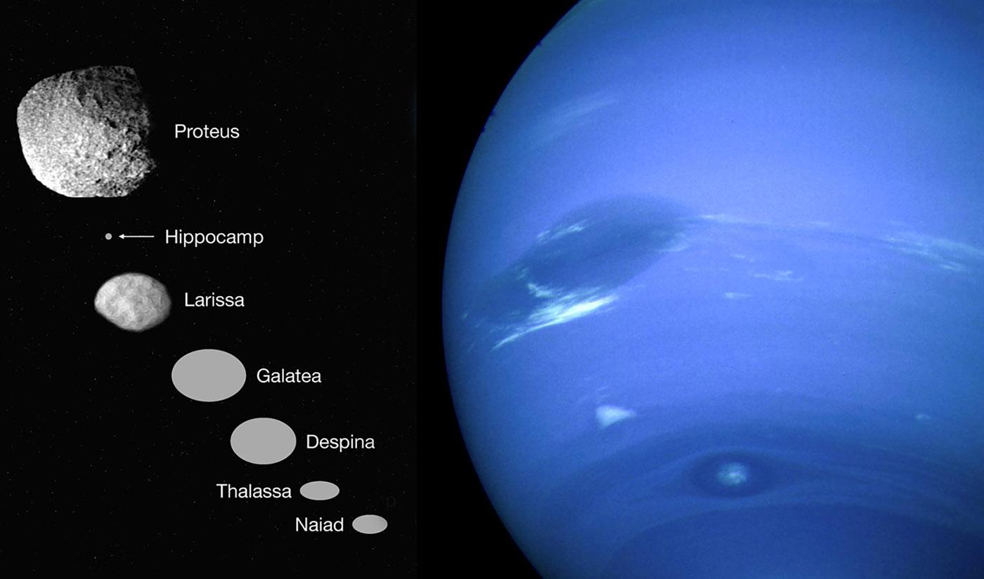 потолки картинка спутника нептуна один