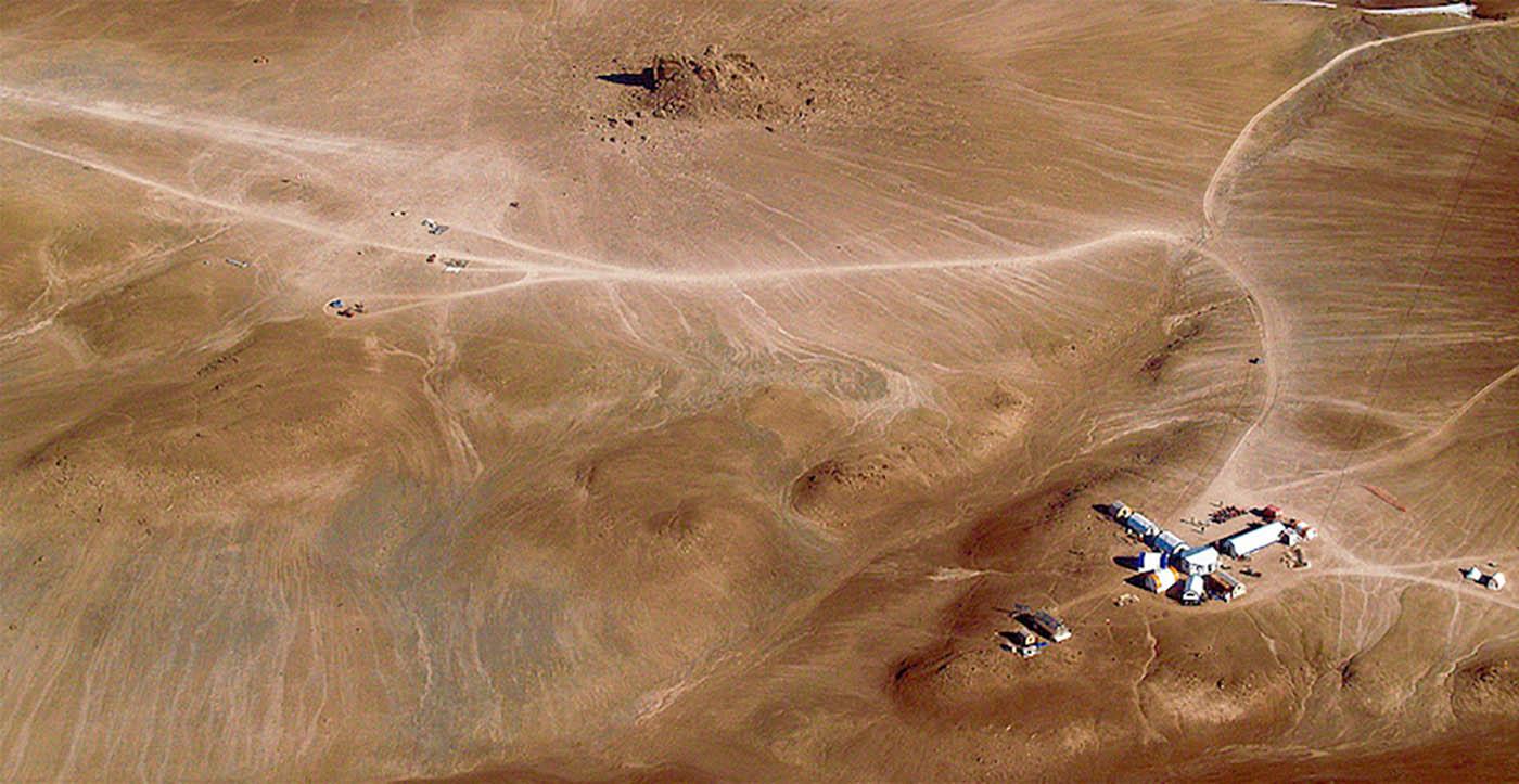 Stazione di ricerca del progetto Houghton Mars
