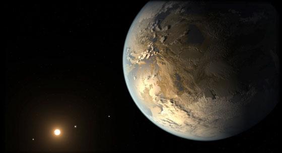 Kepler186f artist concept