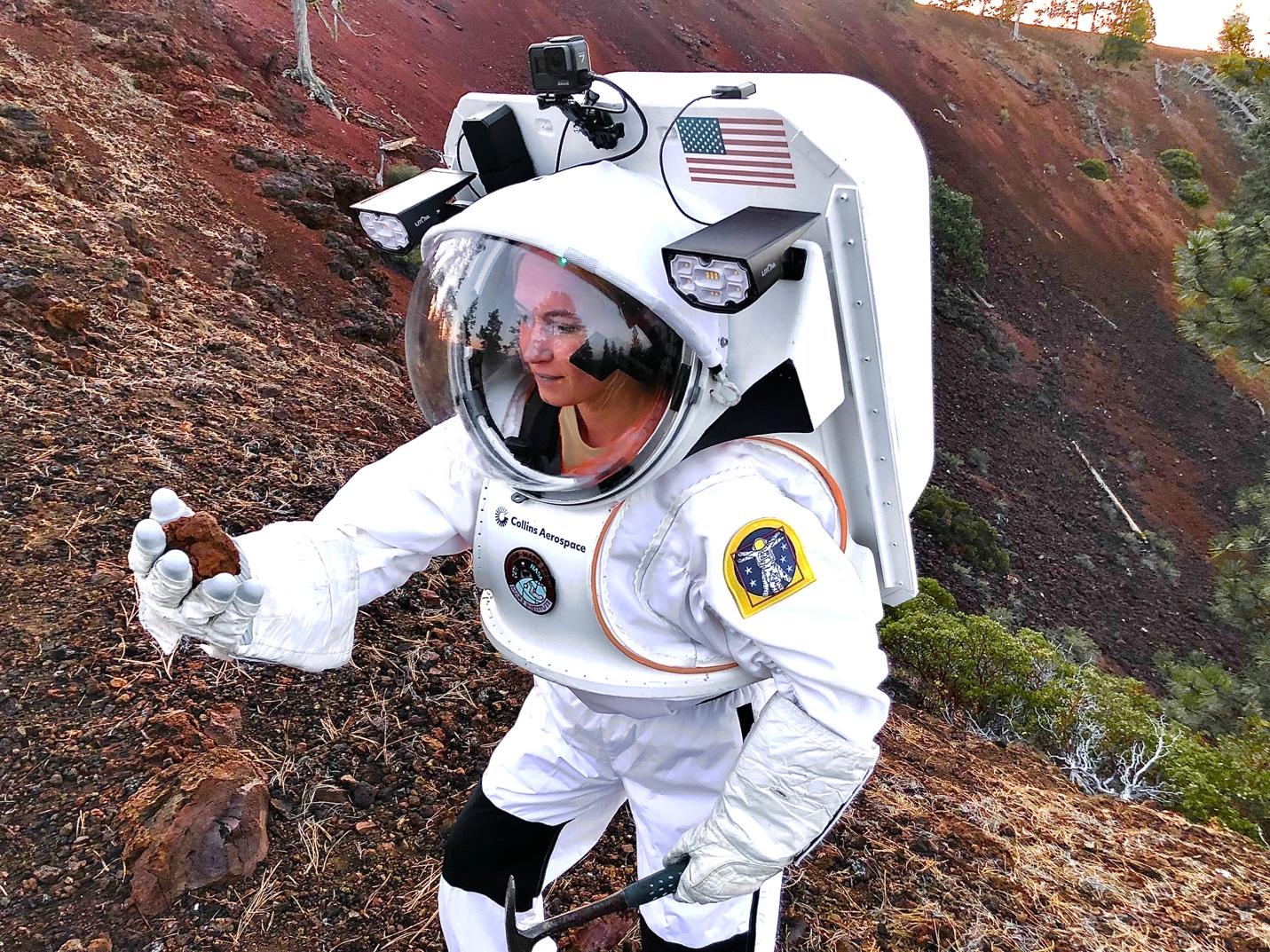 spacesuit engineer Ashley Himmelmann