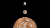 Mars, Phobos, Deimos
