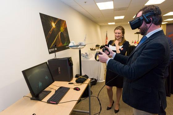 prince tries VR