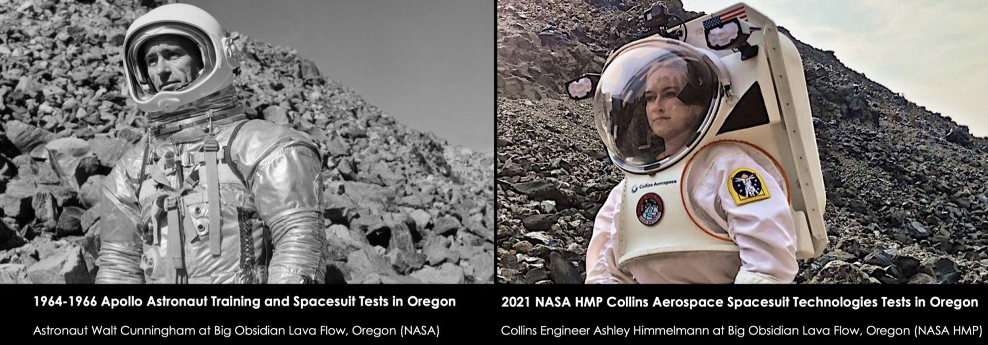 Space Suit training site in Oregon